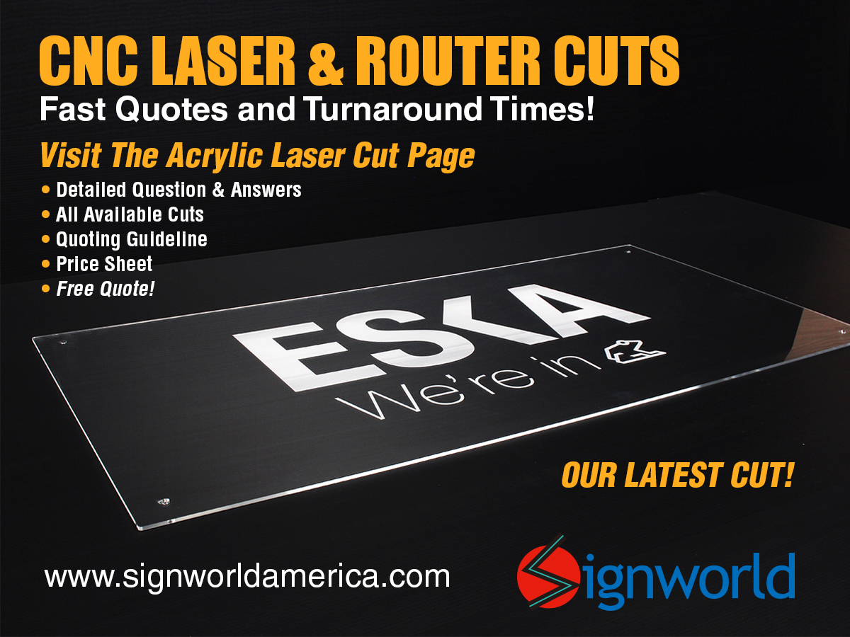 Acrylic Laser Cuts