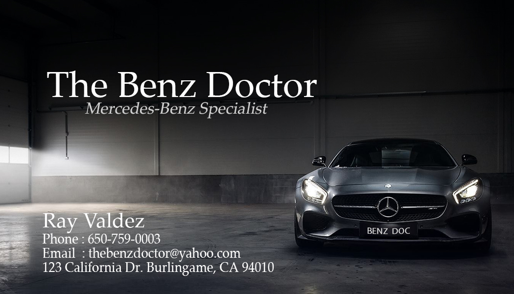 Mercedes benz business cards choice image business card for Mercedes benz business cards