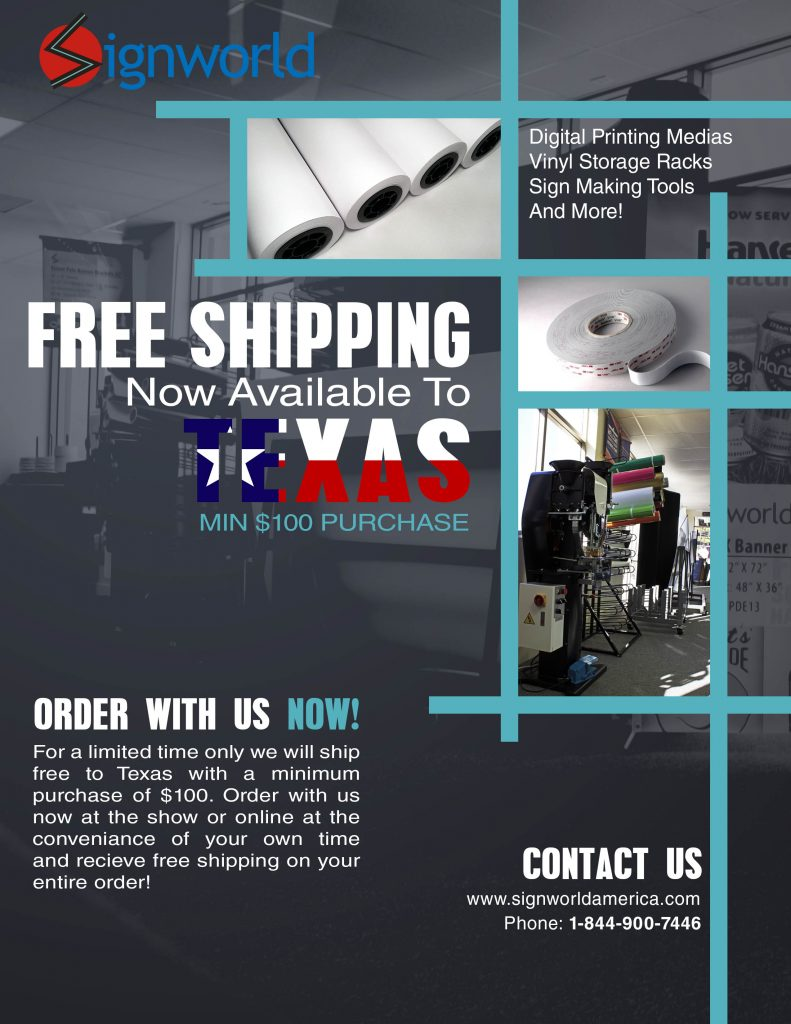 Free Shipping Flyer